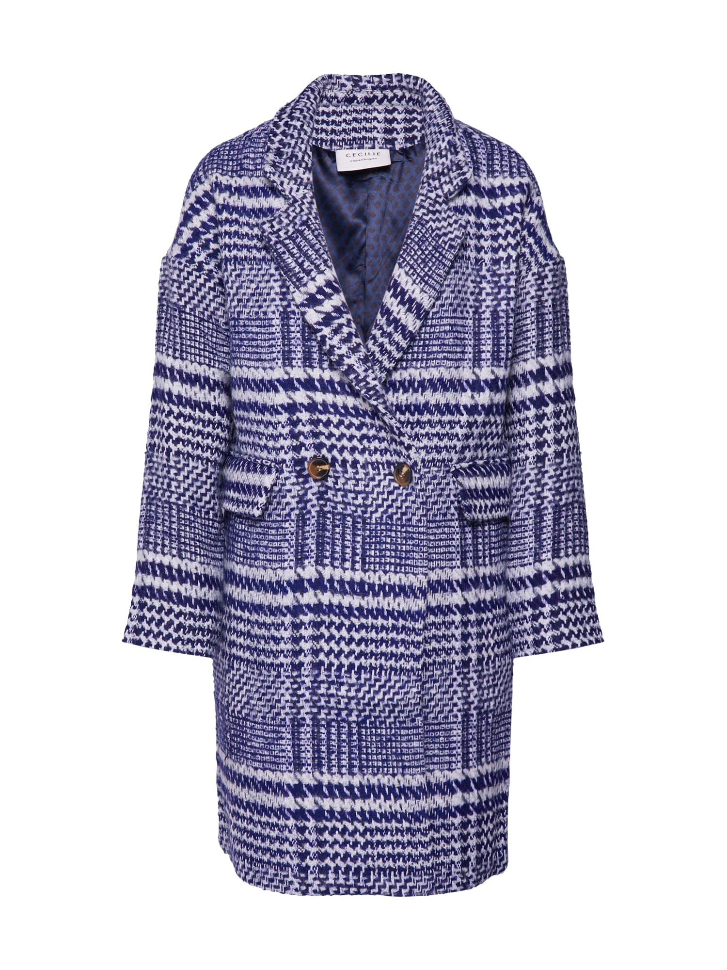 Cecilie Copenhagen Rudeninis-žieminis paltas 'Alvia' mėlyna
