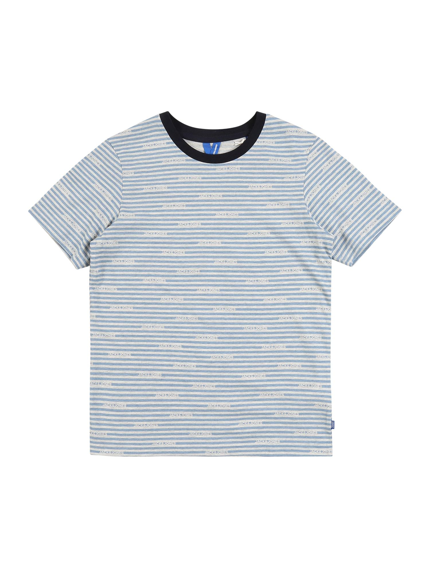 Jack & Jones Junior Marškinėliai šviesiai mėlyna
