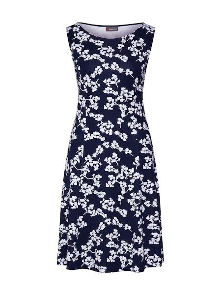 Kleider für Frauen - STREET ONE Kleid dunkelblau weiß  - Onlineshop ABOUT YOU