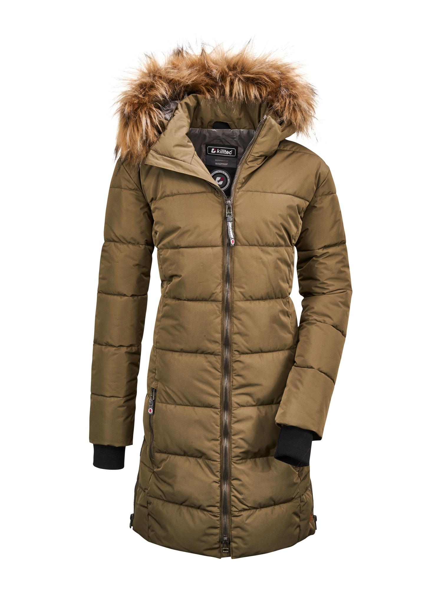 KILLTEC Funkční bunda 'Bantry'  khaki
