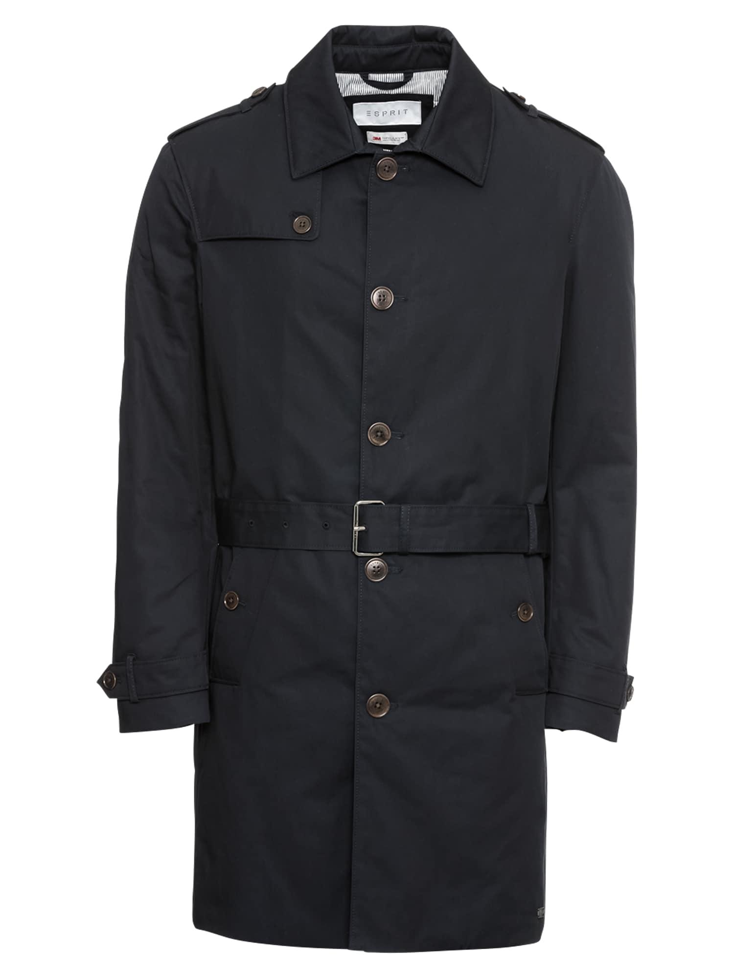 Přechodný kabát F co twll trnch námořnická modř Esprit Collection