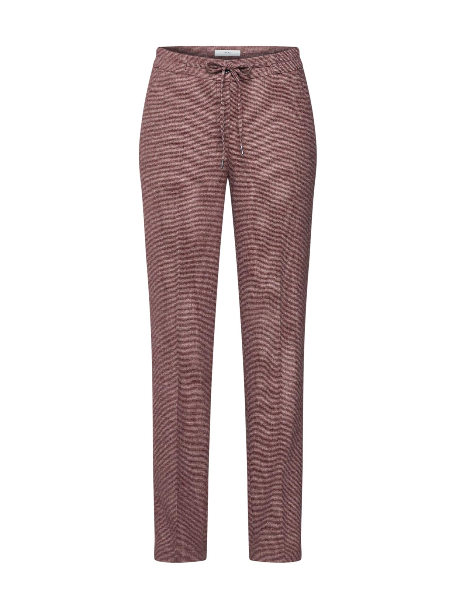 BRAX Kelnės su kantu 'MAREEN' uogų spalva