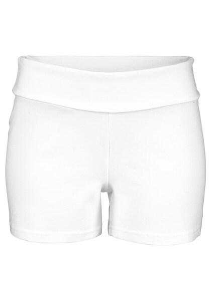 Hosen für Frauen - Strandshorts › BEACH TIME › weiß  - Onlineshop ABOUT YOU