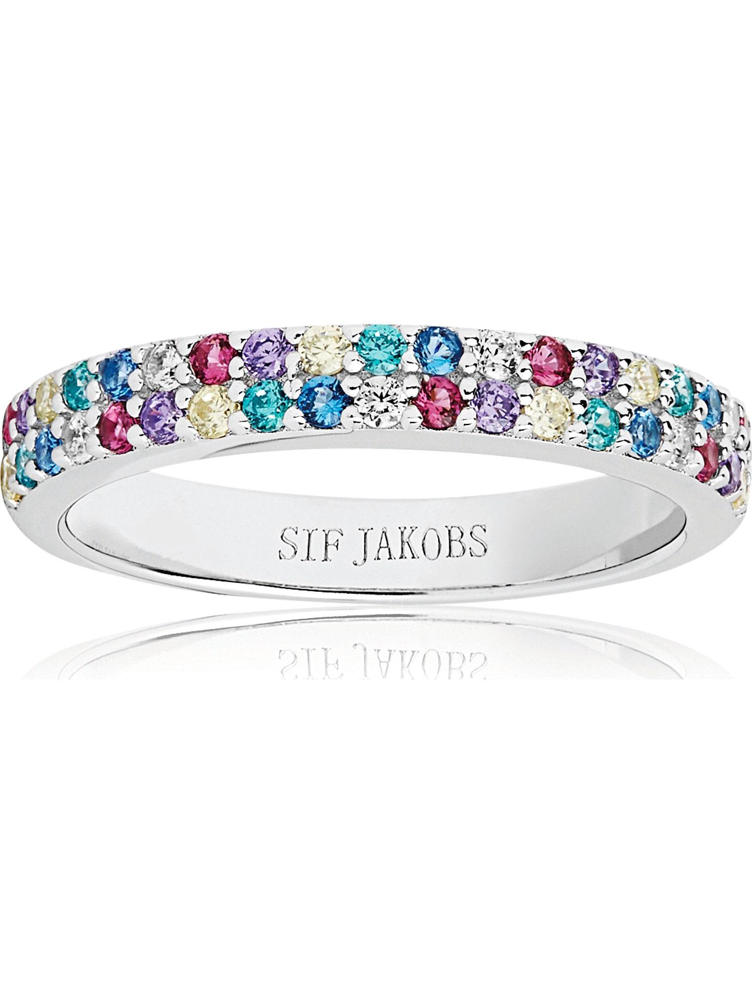 Damen Sif Jakobs Ring 'Corte Due' silber | 05710698060907