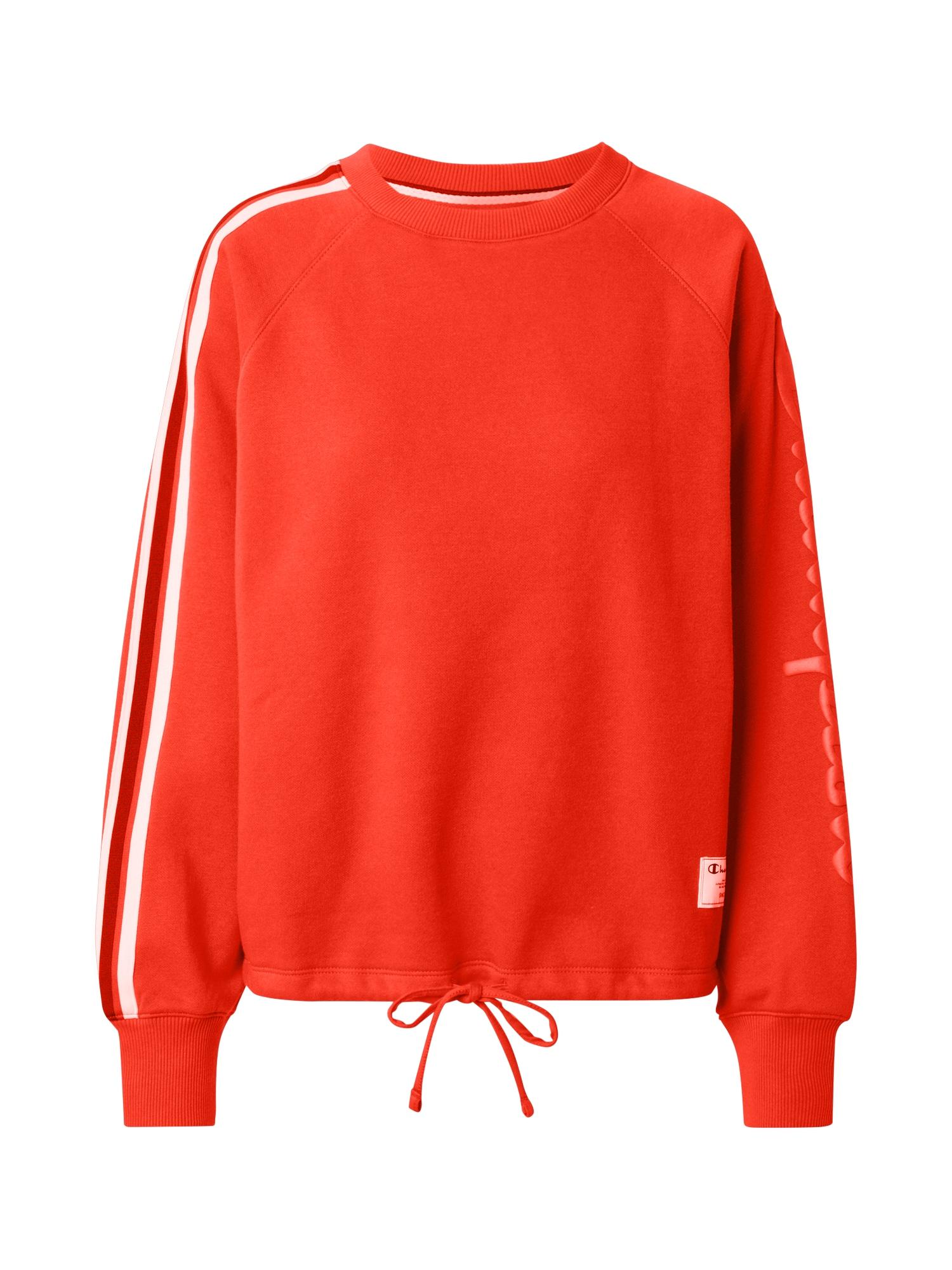 Champion Authentic Athletic Apparel Megztinis be užsegimo oranžinė-raudona