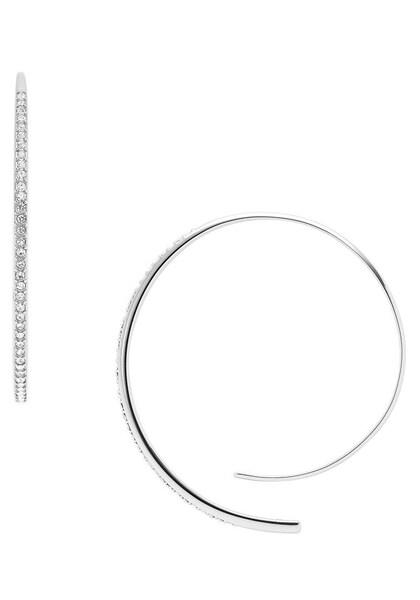 Ohrringe für Frauen - FOSSIL Paar Ohrhaken 'VINTAGE GLITZ, JF02909040' silber weiß  - Onlineshop ABOUT YOU