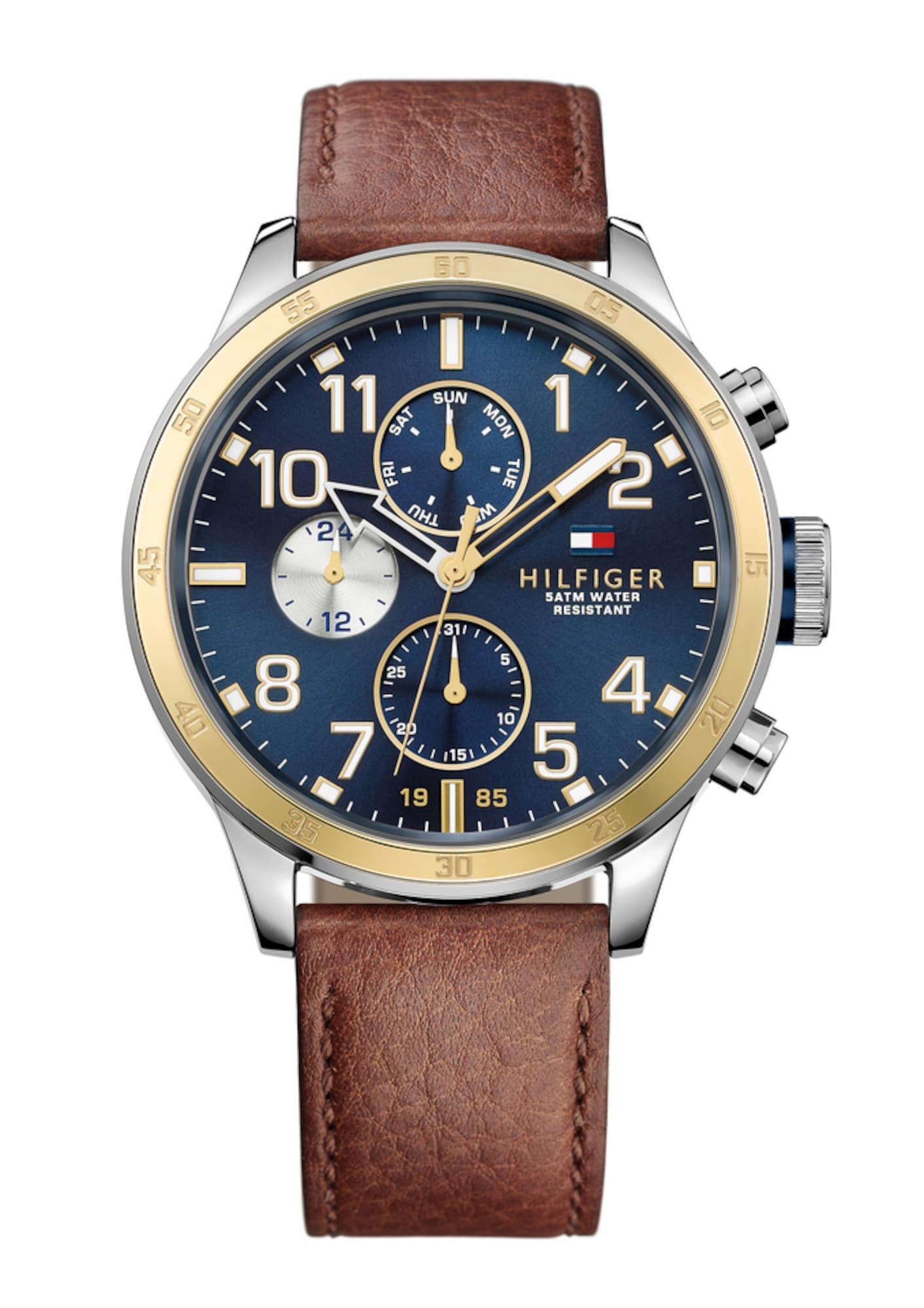 TOMMY HILFIGER Analoginis (įprasto dizaino) laikrodis ruda