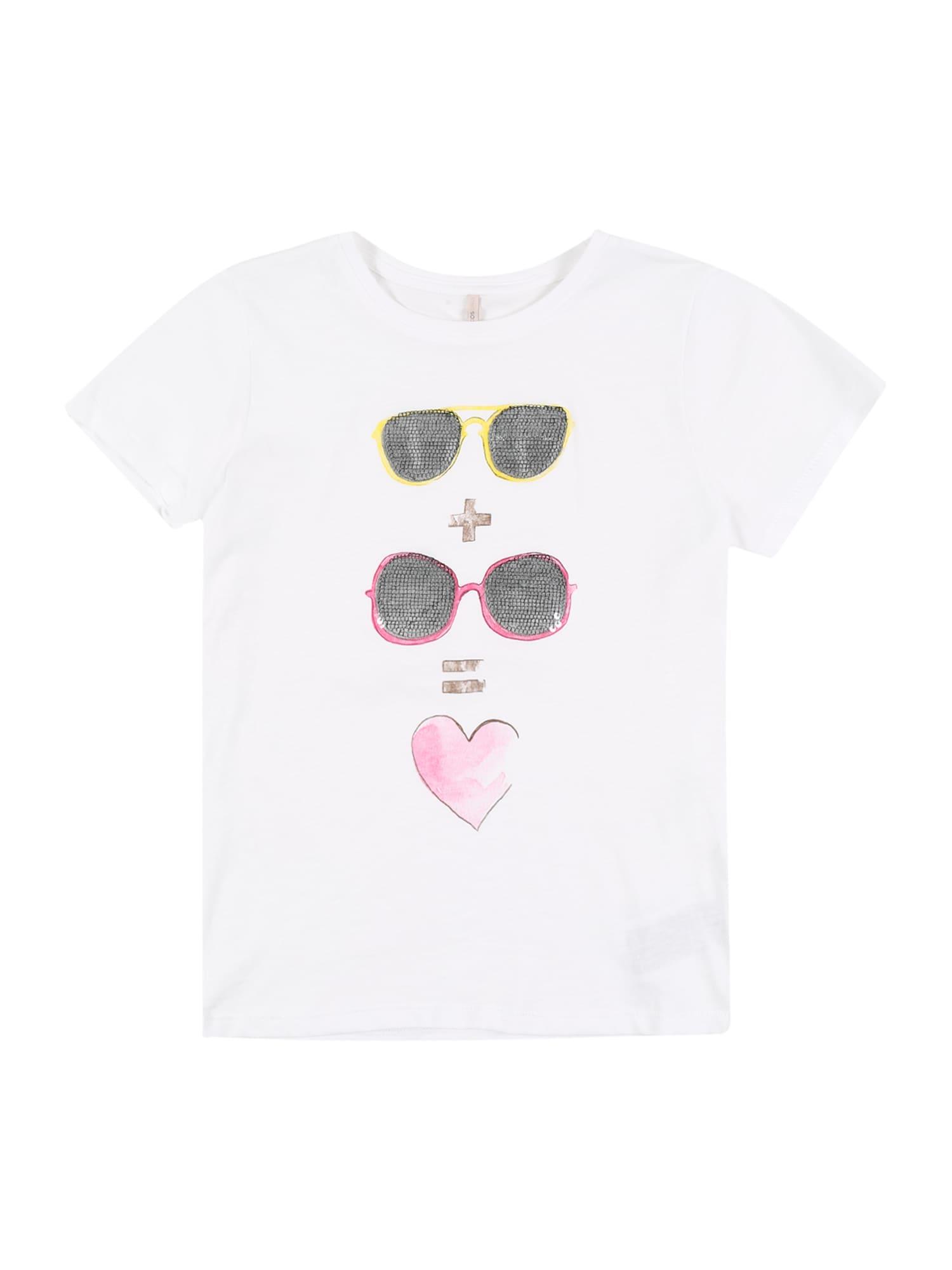 KIDS ONLY Marškinėliai 'SUNNY' balta