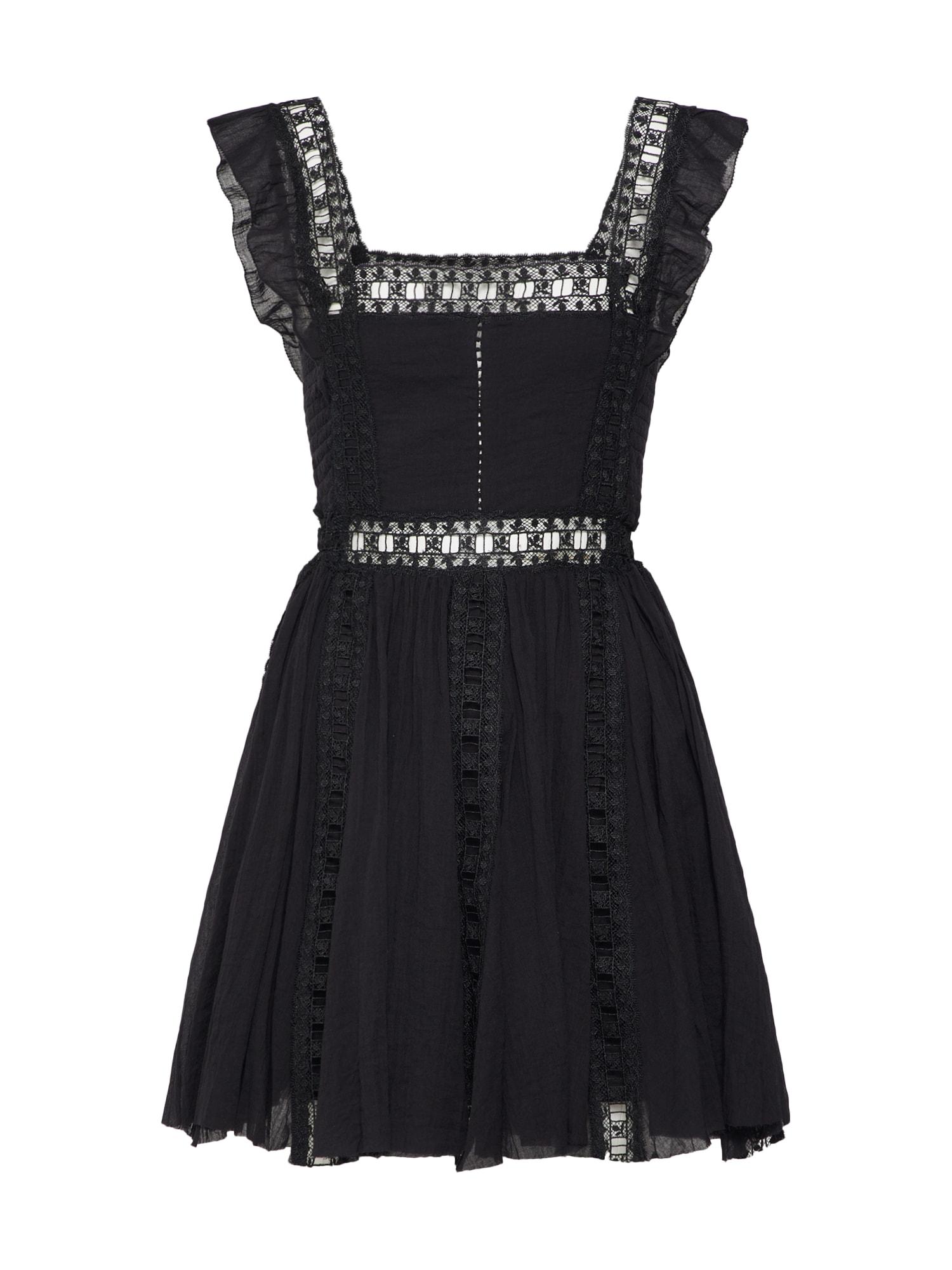 Letní šaty Verona Dress černá Free People