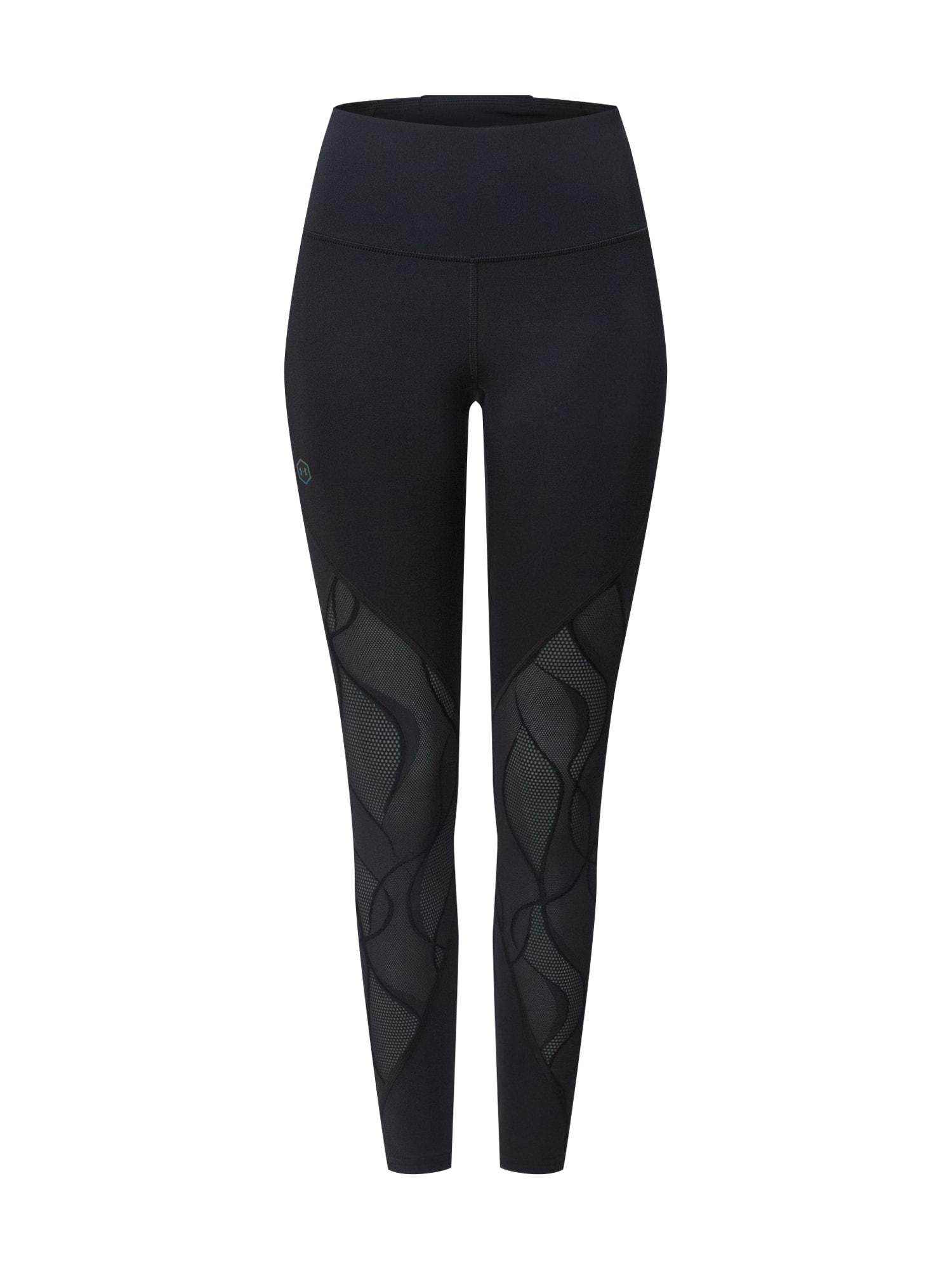 UNDER ARMOUR Športové nohavice 'Rush'  čierna