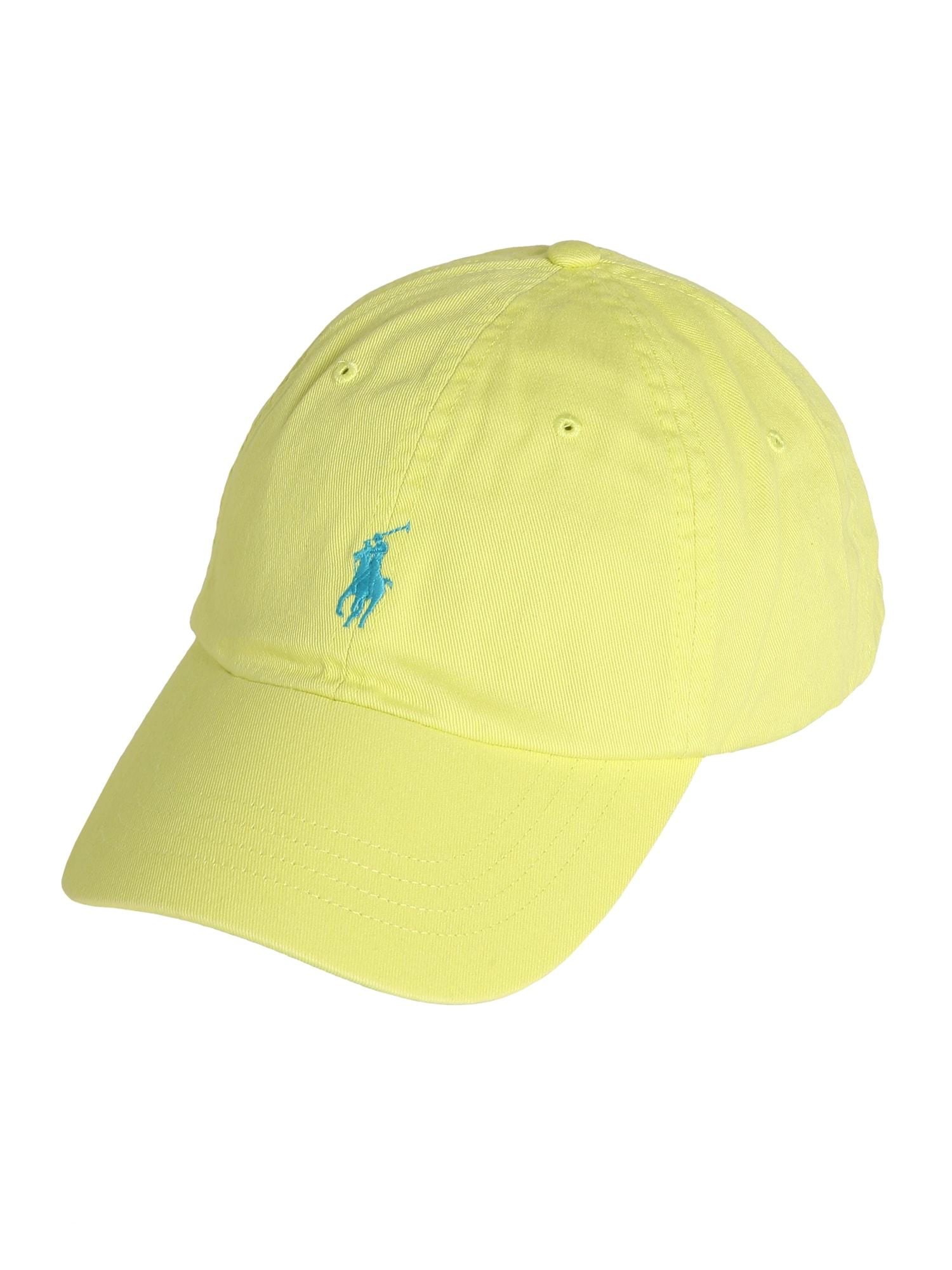 POLO RALPH LAUREN Kepurė neoninė geltona