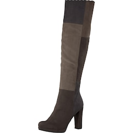 Damen TAMARIS Stiefel Patchwork grau   04055158014382