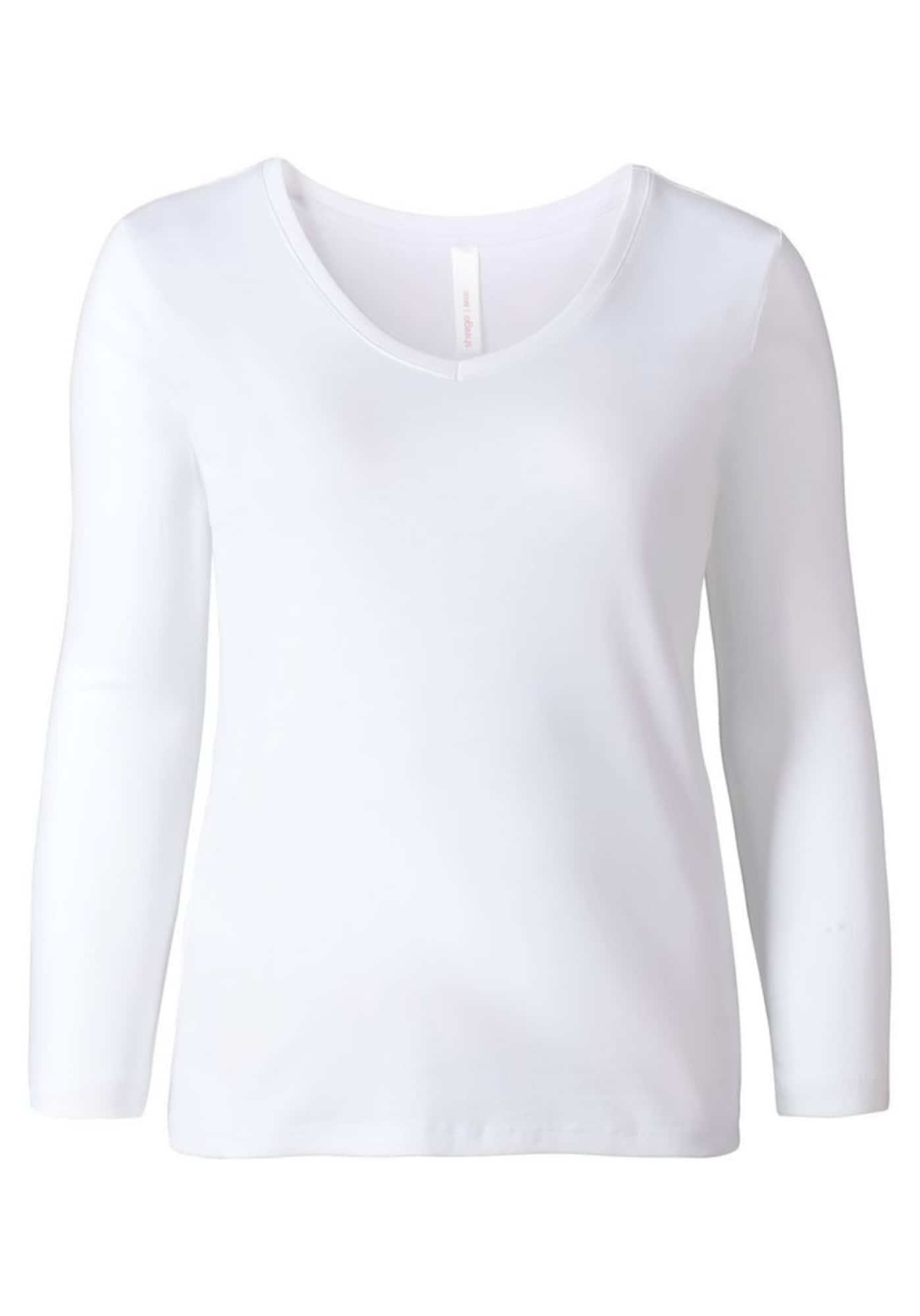 SHEEGO Marškinėliai balta