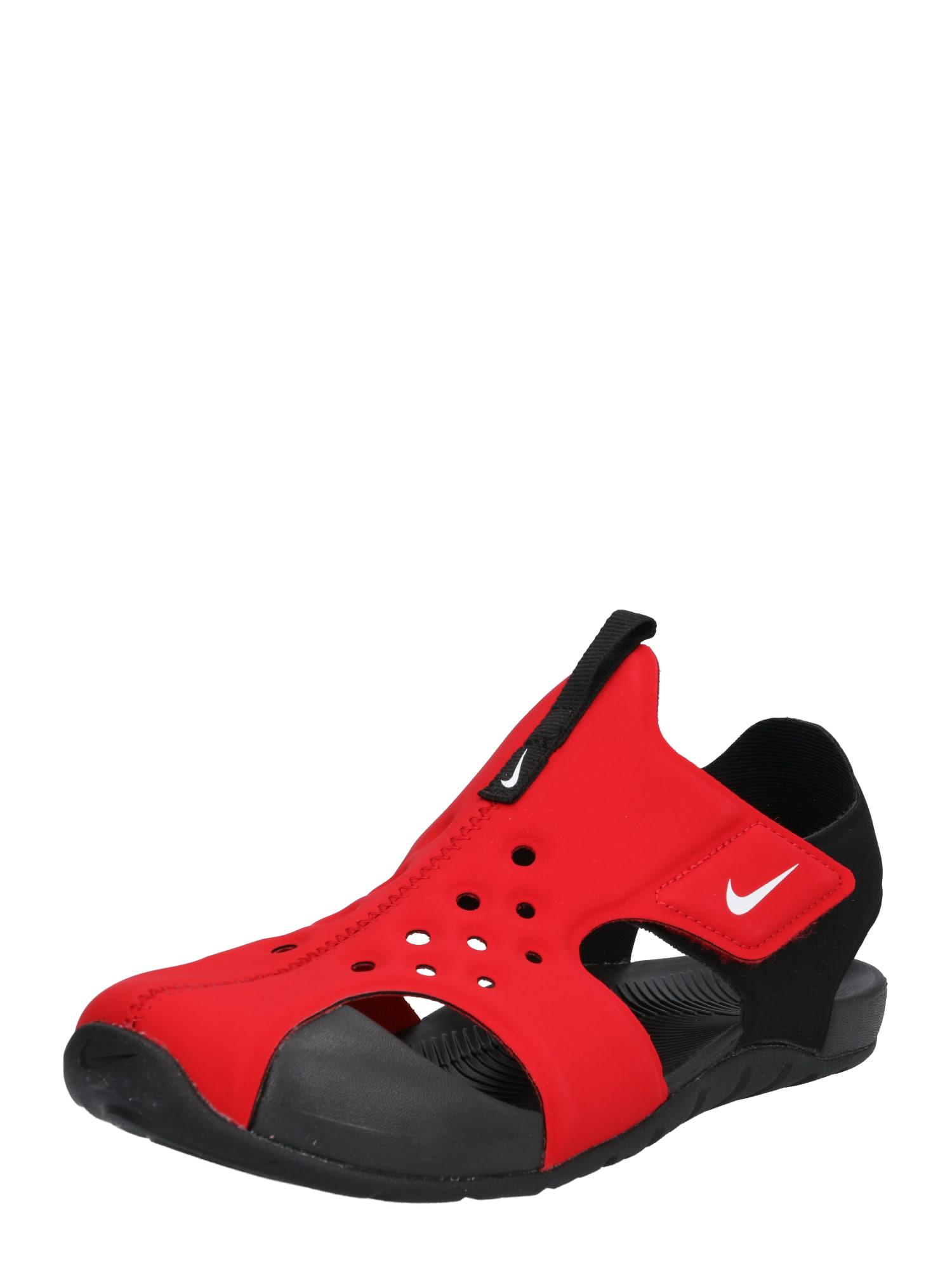 Plážovákoupací obuv Sunray Protect světle červená Nike Sportswear