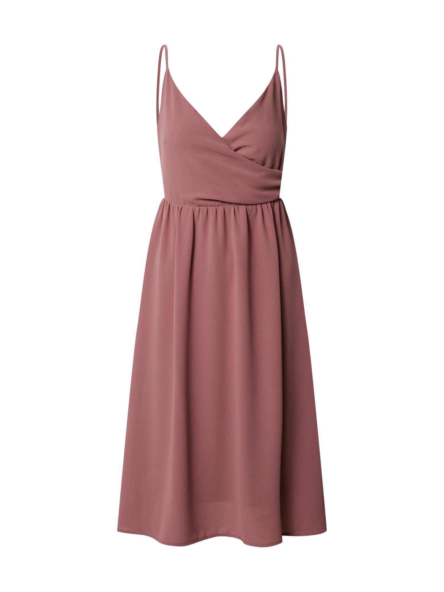 ABOUT YOU Kokteilinė suknelė 'Insa' rožių spalva