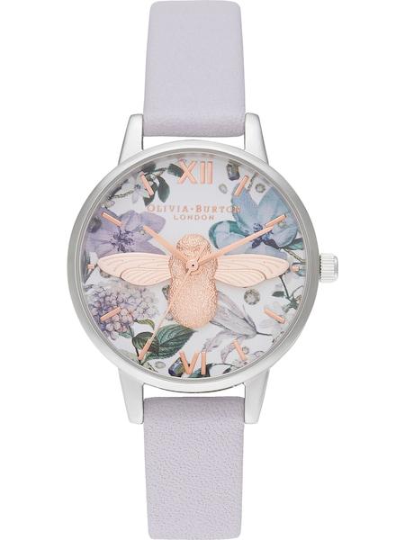 Uhren für Frauen - Damenuhr 'Bejewelled Florals' › Olivia Burton › flieder  - Onlineshop ABOUT YOU