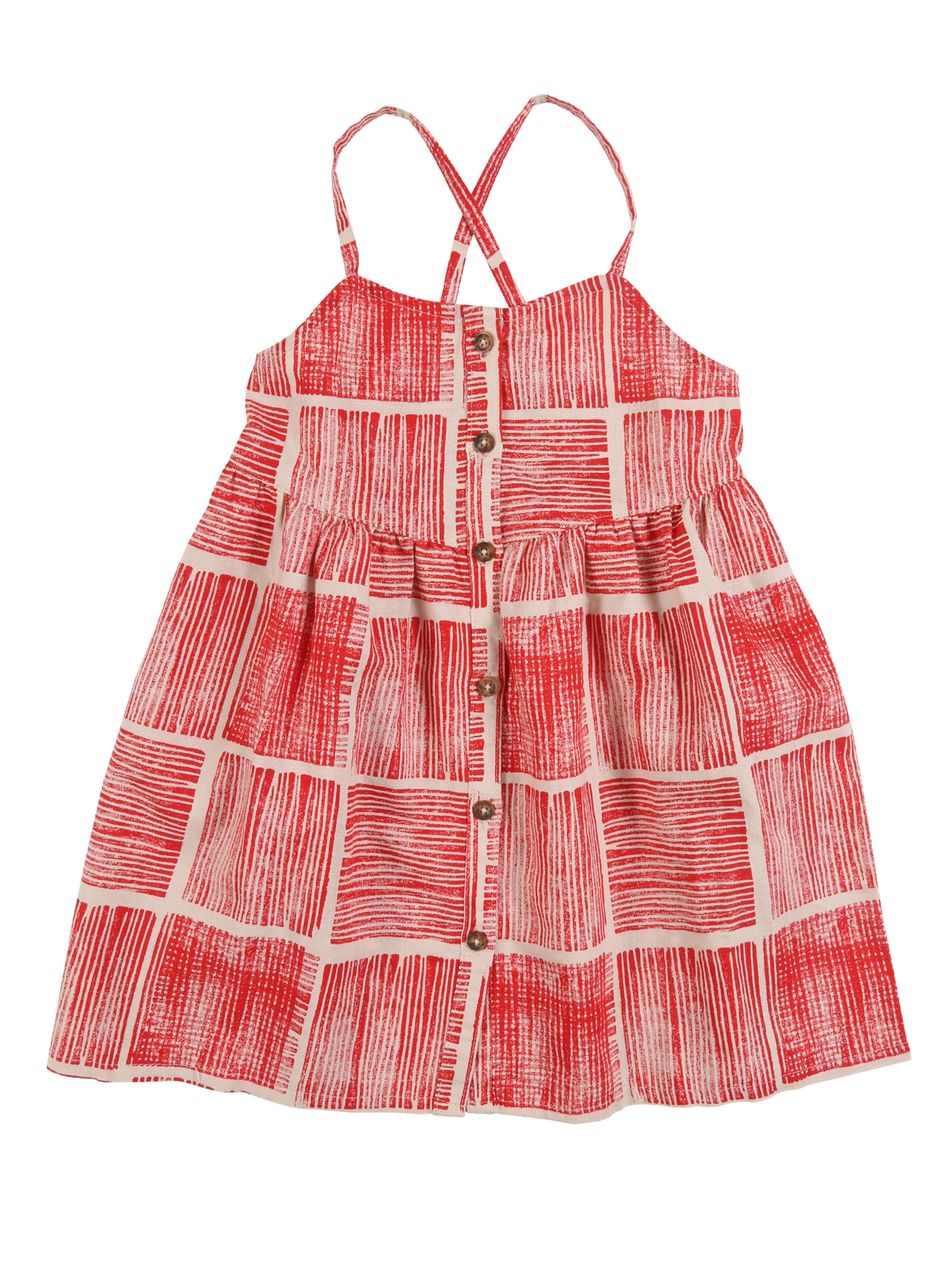 UNITED COLORS OF BENETTON Suknelė raudona / rožių spalva