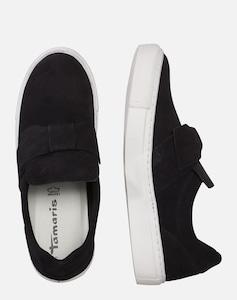 Sneaker mit Schleife