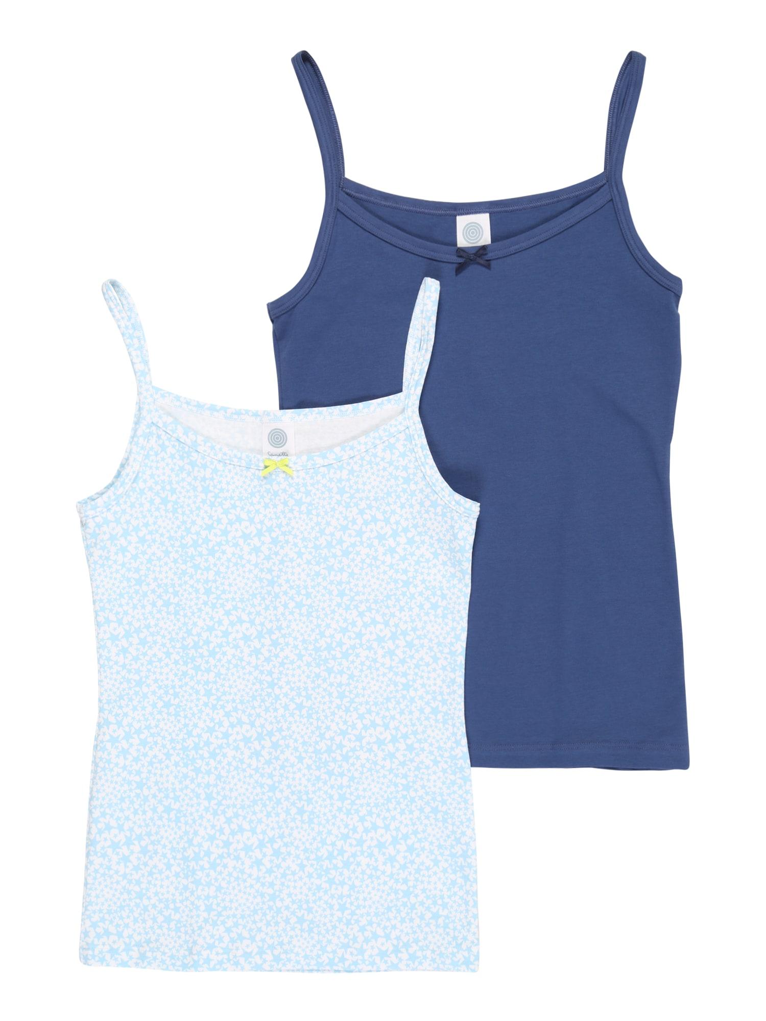 SANETTA Apatiniai marškinėliai '346131+346132' mėlyna