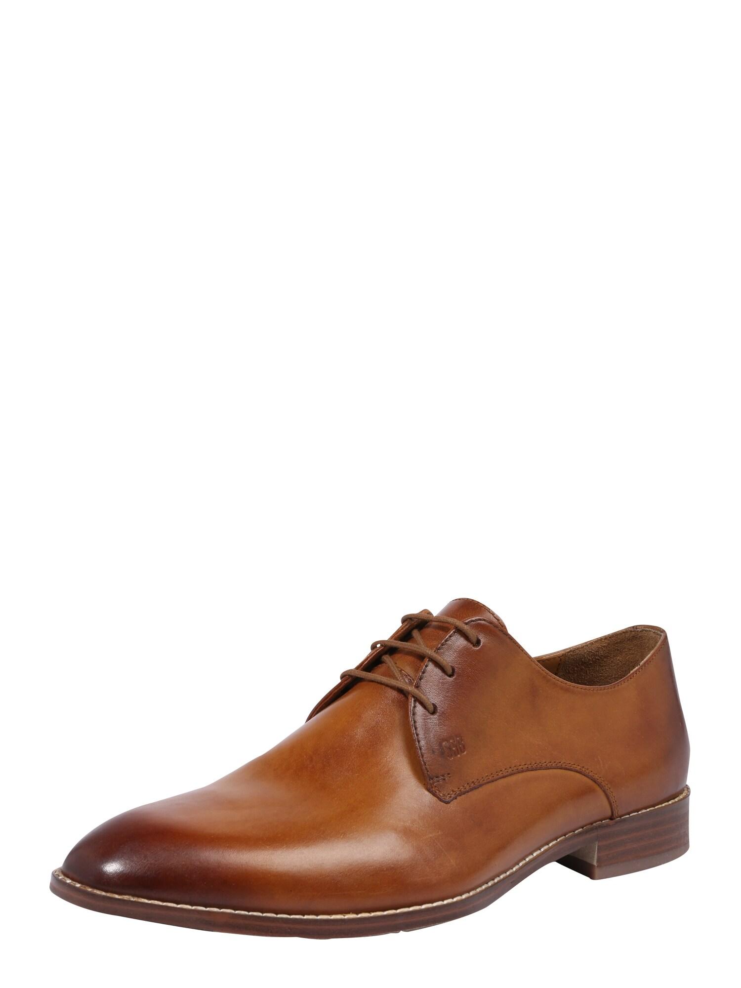 Šněrovací boty Mirco koňaková Gordon & Bros