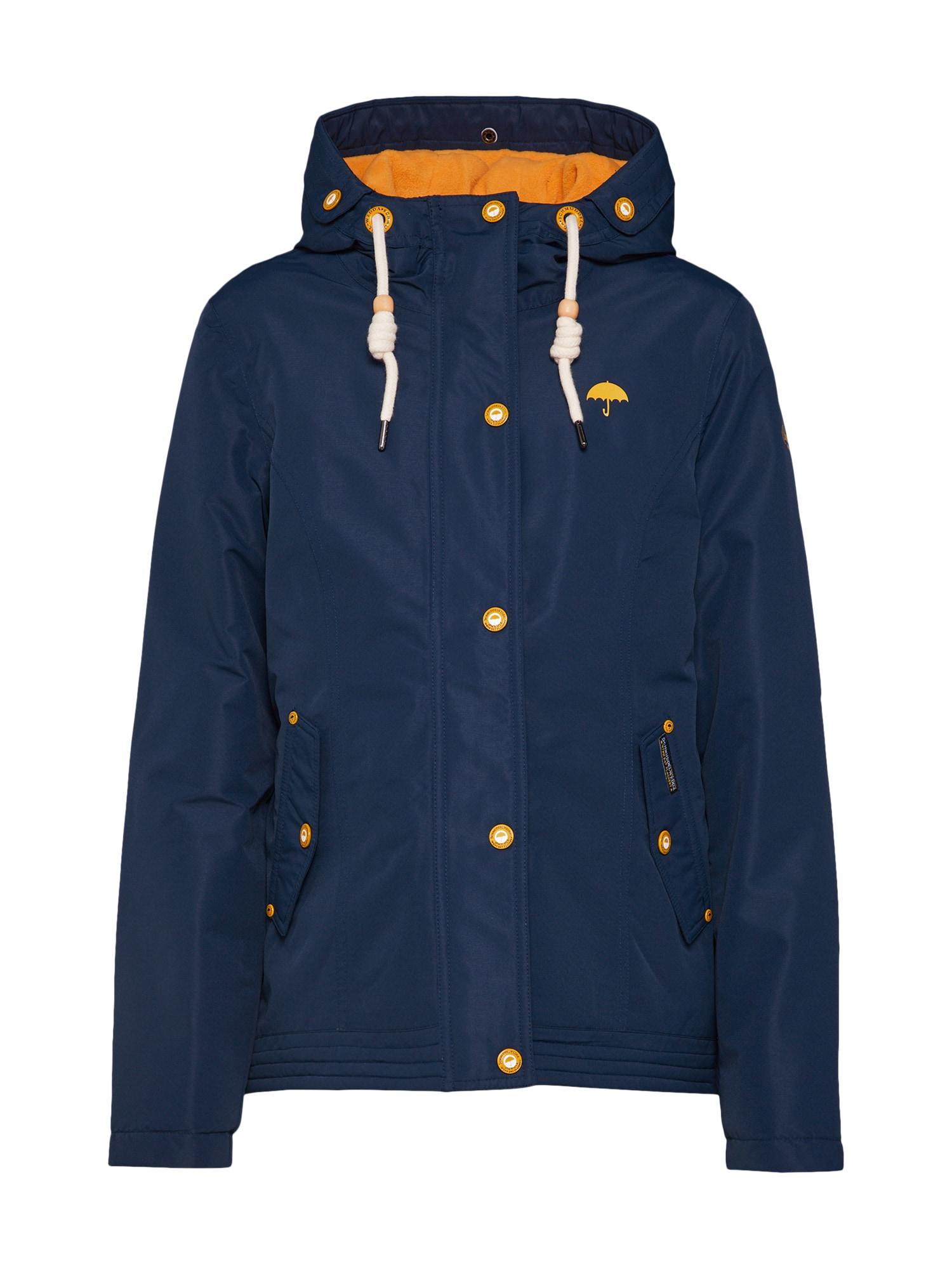 Zimní bunda marine modrá tmavě modrá Schmuddelwedda