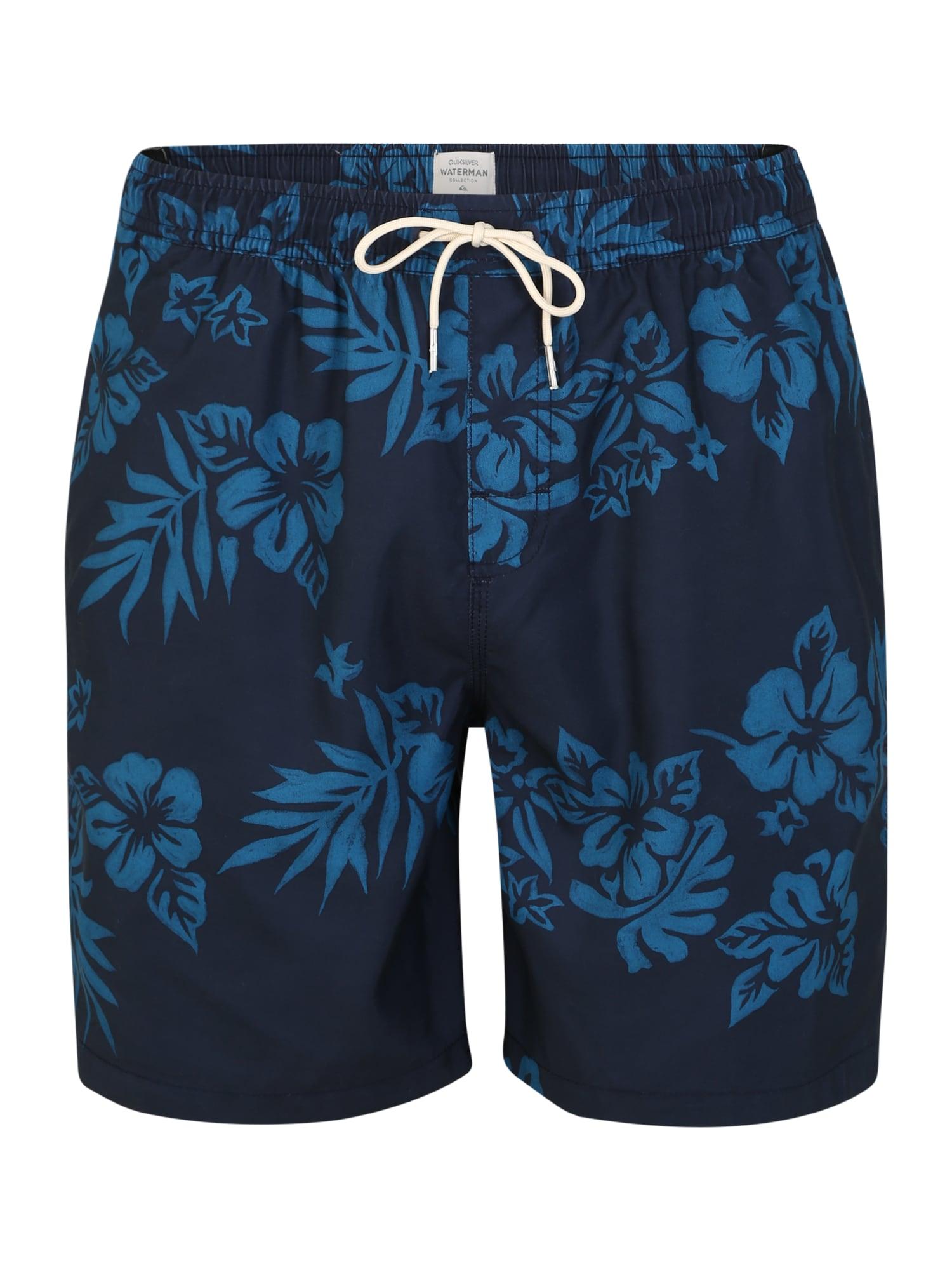 QUIKSILVER Plavecké šortky 'FFEELVLY'  modré / námornícka modrá