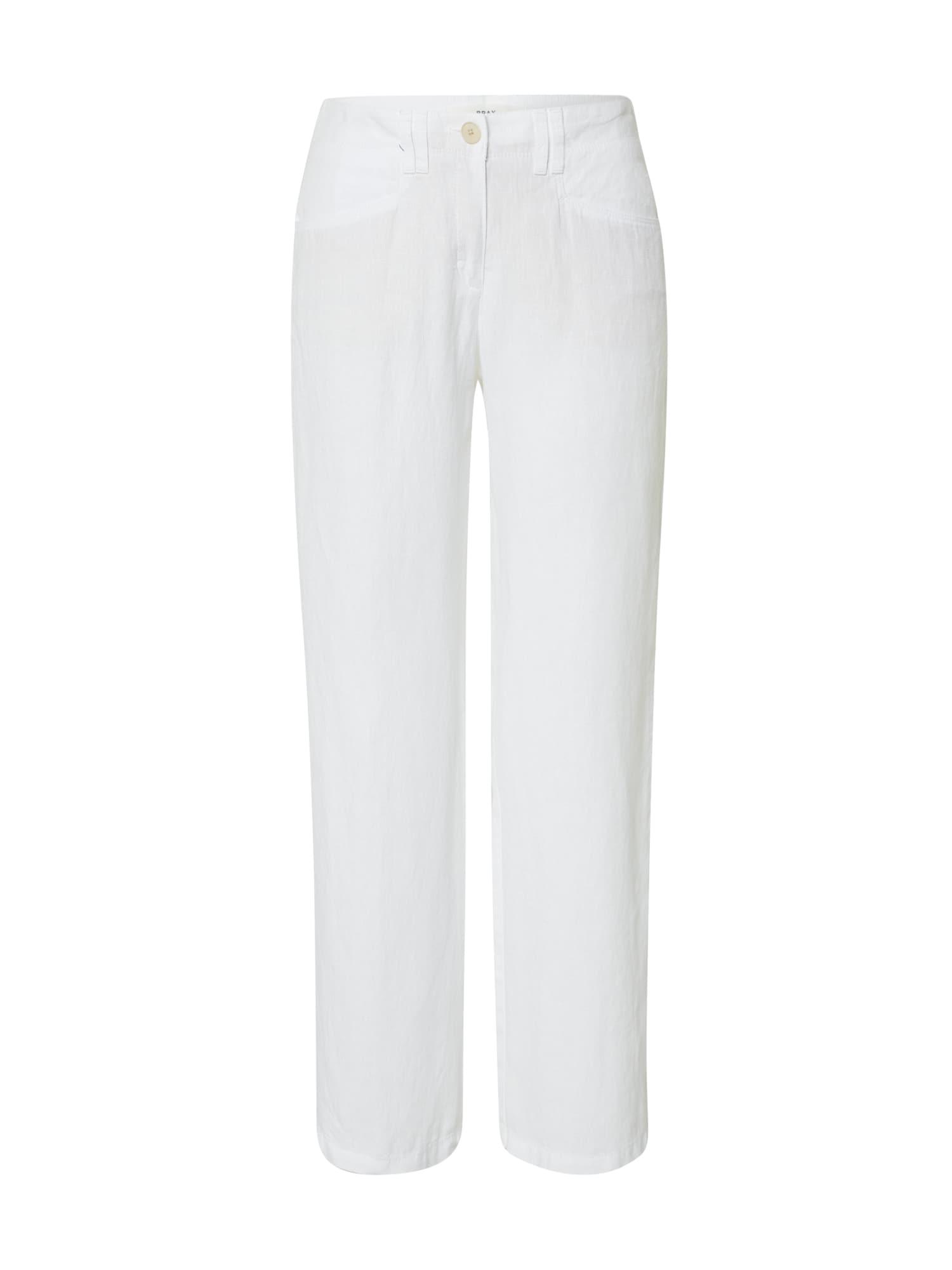 BRAX Kelnės 'FARINA' balta