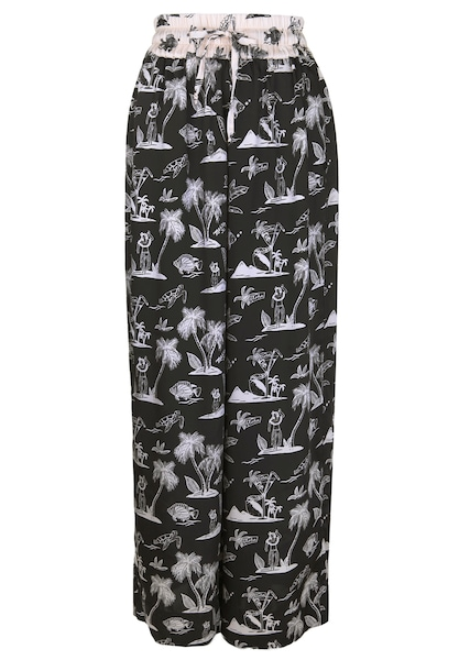 Hosen - 'Hose mit Muster' › Scotch Soda › mehrfarbig  - Onlineshop ABOUT YOU