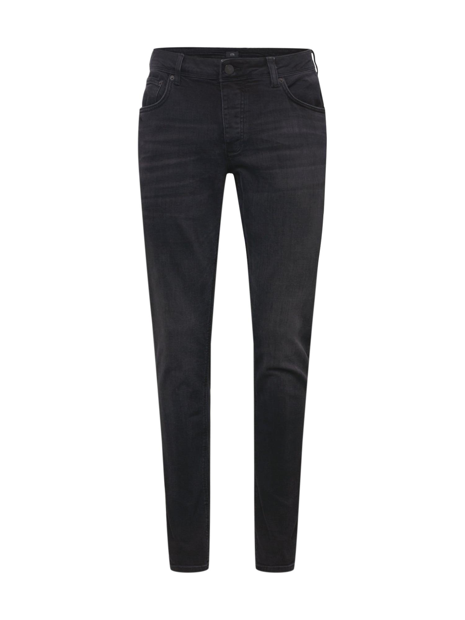 River Island Džinsai juodo džinso spalva