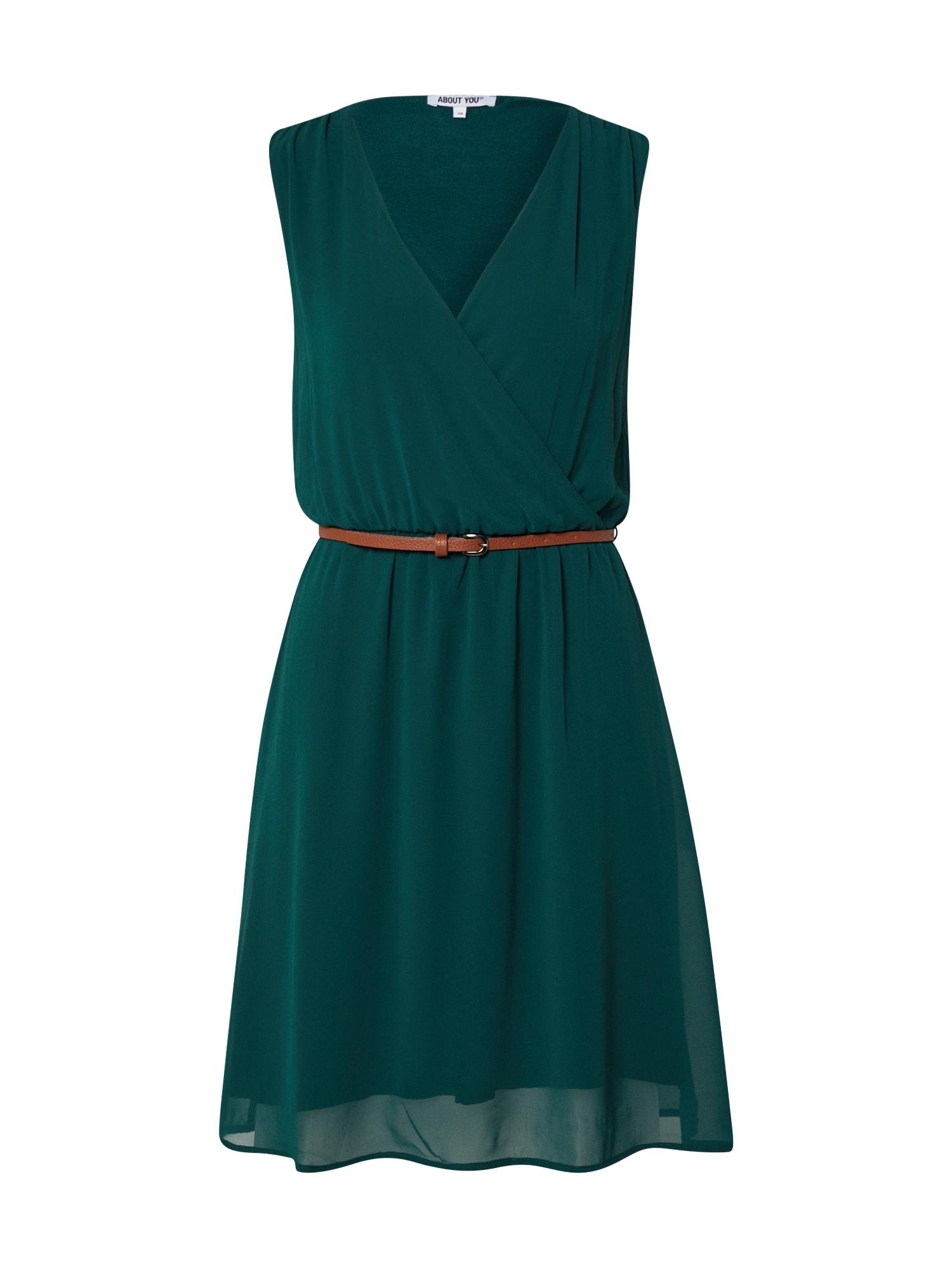 ABOUT YOU Suknelė 'Lilian' tamsiai žalia