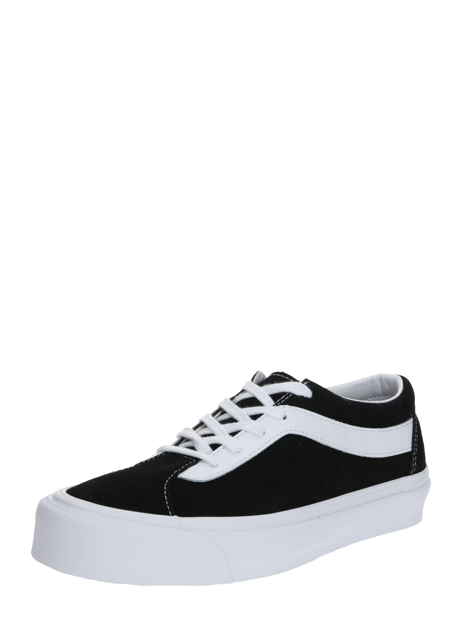 VANS Šnurovacie topánky 'UA Bold NI'  biela / čierna