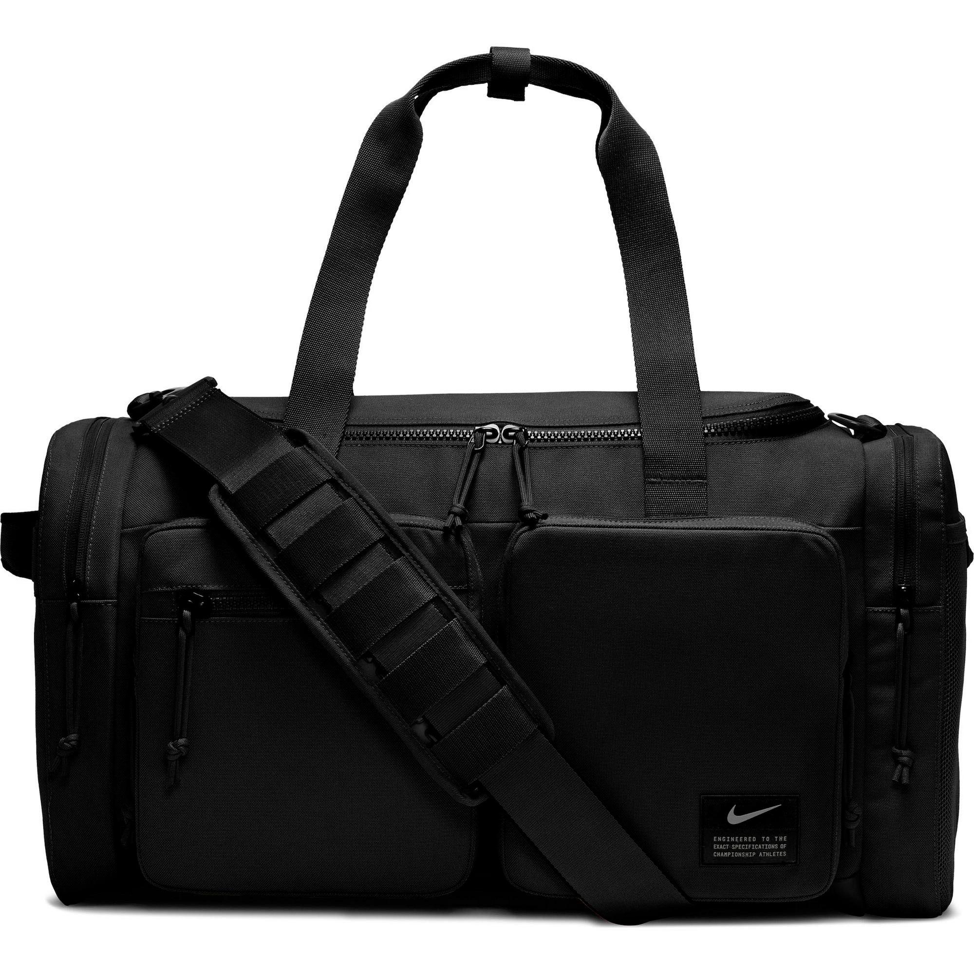 NIKE Športová taška 'Utility Power M'  čierna