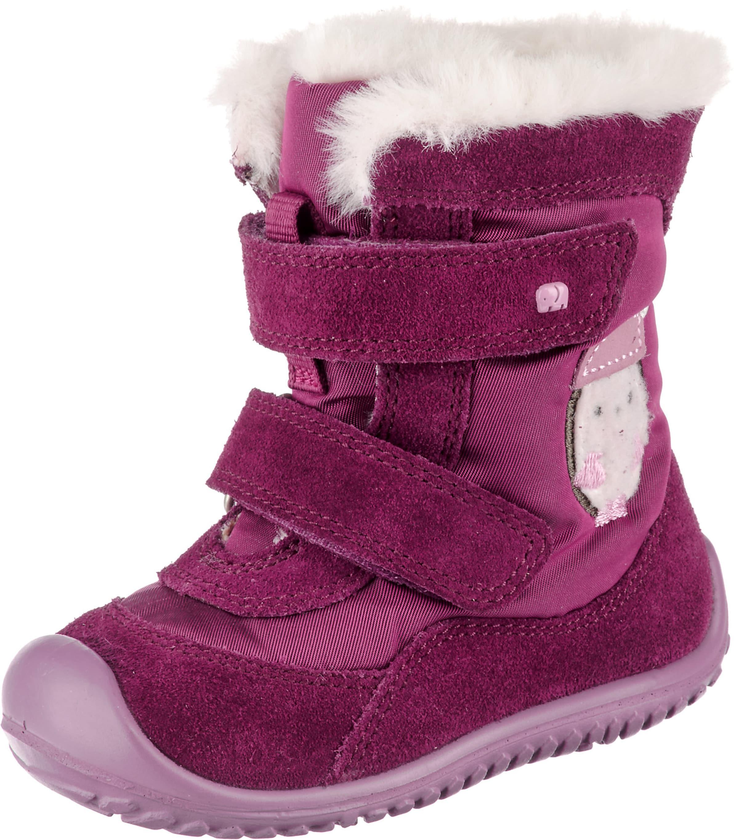 Kinder,  Mädchen,  Kinder elefanten Winterstiefel SEPEN beere,  rot | 04054613659830