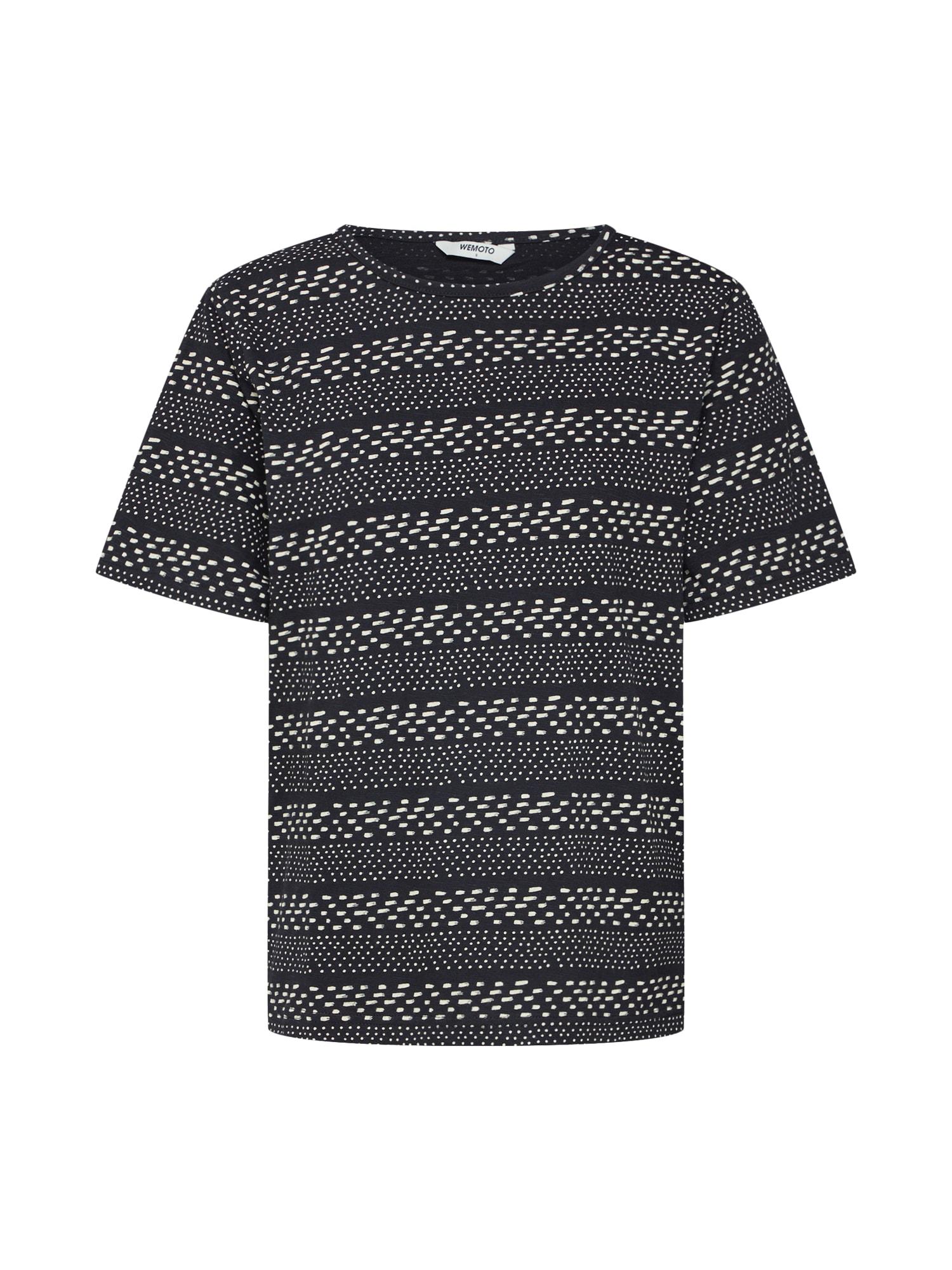 Tričko Holden Printed černá bílá Wemoto