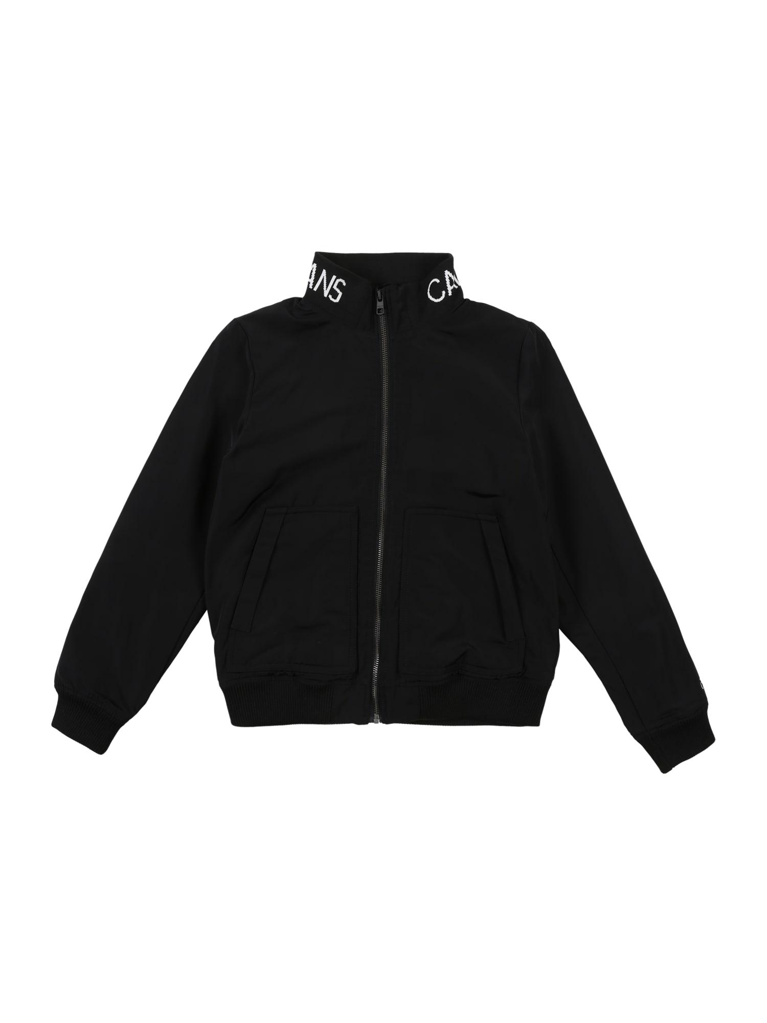 Calvin Klein Jeans Demisezoninė striukė juoda