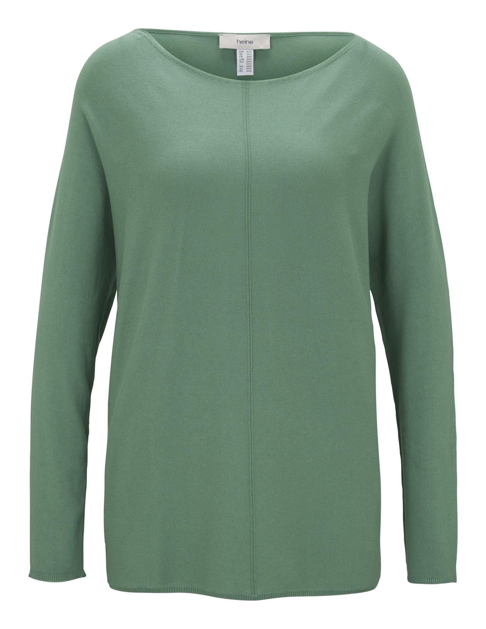 heine Laisvas megztinis žalia