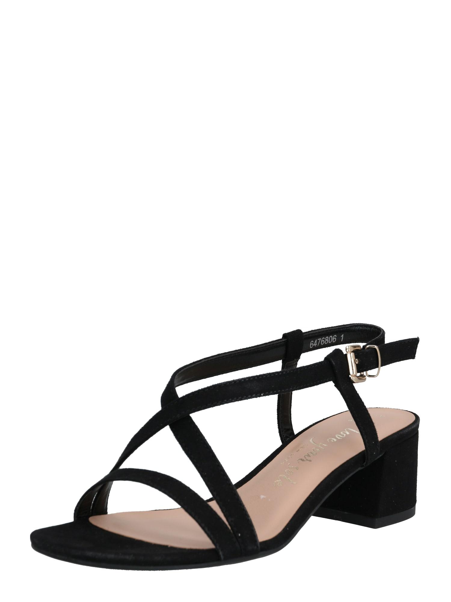 NEW LOOK Remienkové sandále 'WF RULIE'  čierna