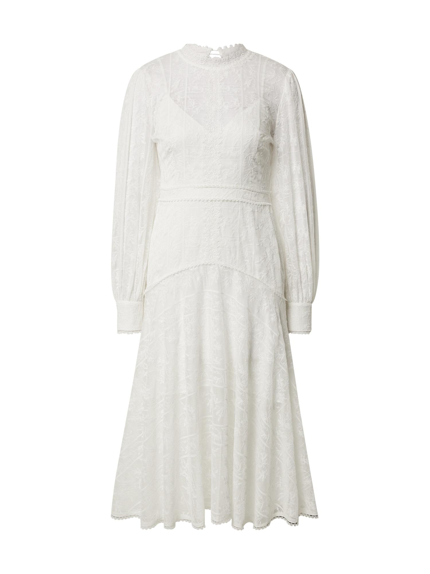 Forever New Vasarinė suknelė 'Bellamy Lace' balta