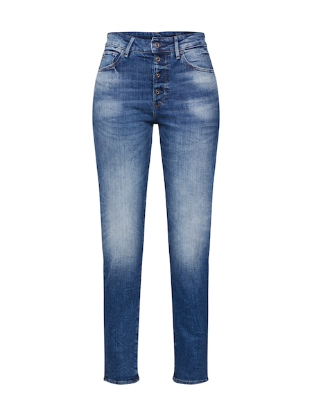 Hosen - Jeans 'Navik High Slim Ankle' › G Star Raw › blue denim  - Onlineshop ABOUT YOU