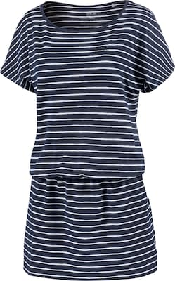 JACK WOLFSKIN Jerseykleid 'TRAVEL STRIPED DRESS'