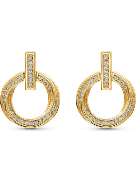 Ohrringe - Ohrstecker › JETTE › gold weiß  - Onlineshop ABOUT YOU