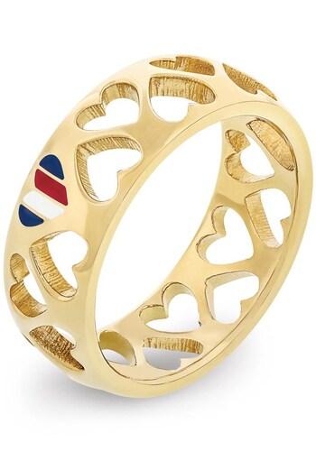 Ringe für Frauen - TOMMY HILFIGER Ring gold  - Onlineshop ABOUT YOU