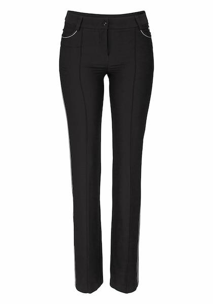 Hosen für Frauen - BRUNO BANANI Hose schwarz  - Onlineshop ABOUT YOU