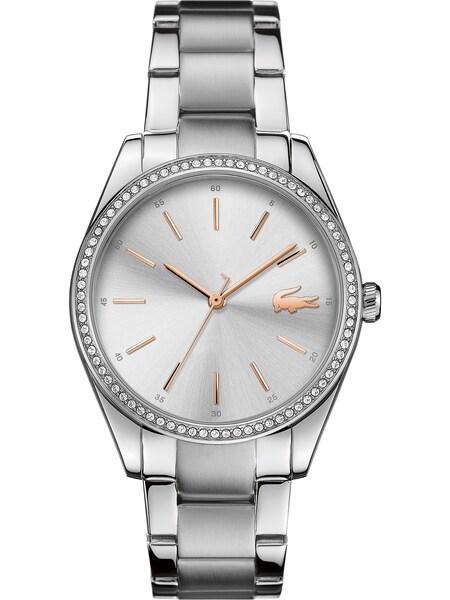 Uhren für Frauen - LACOSTE Uhr 'Parisienne 2001083' silber  - Onlineshop ABOUT YOU