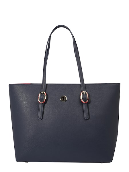 Shopper für Frauen - TOMMY HILFIGER Tote Bag in Saffiano Optik navy  - Onlineshop ABOUT YOU