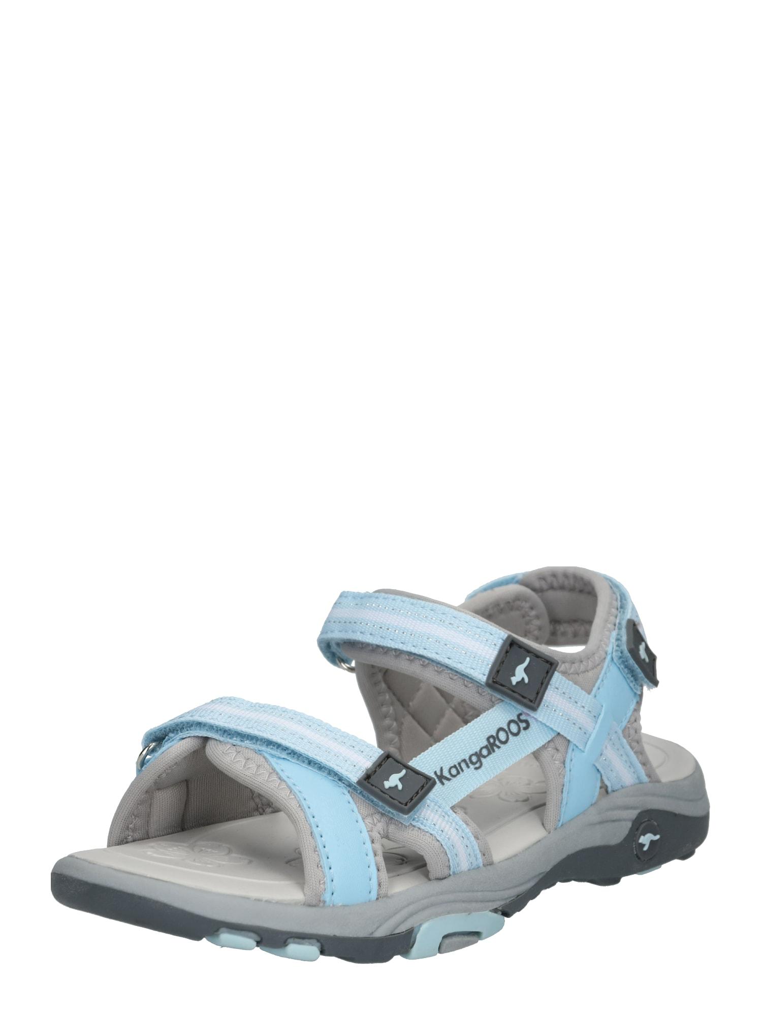 KangaROOS Atviri batai 'K-Leni' šviesiai mėlyna / pilka