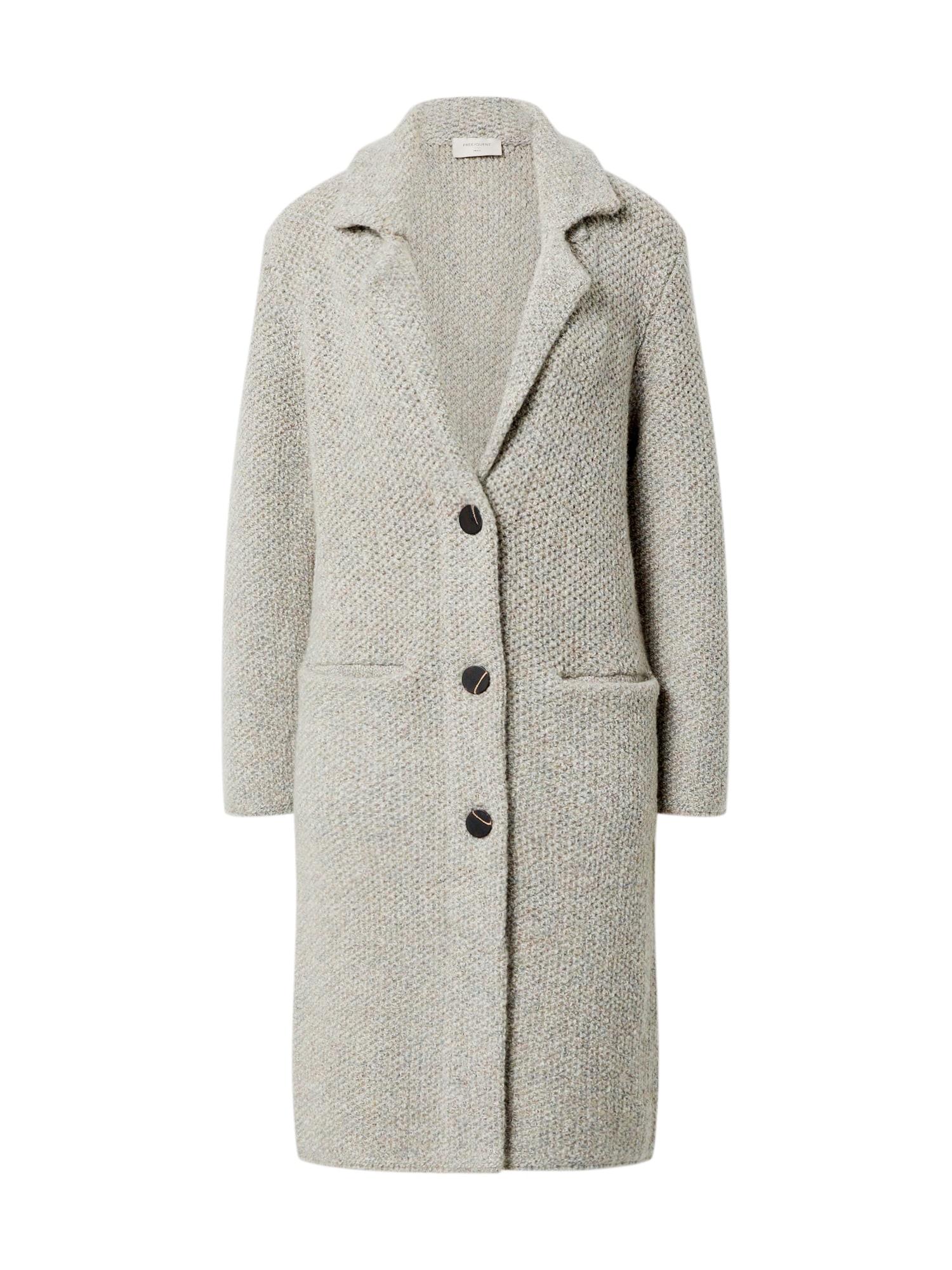 Freequent Demisezoninis paltas pilka