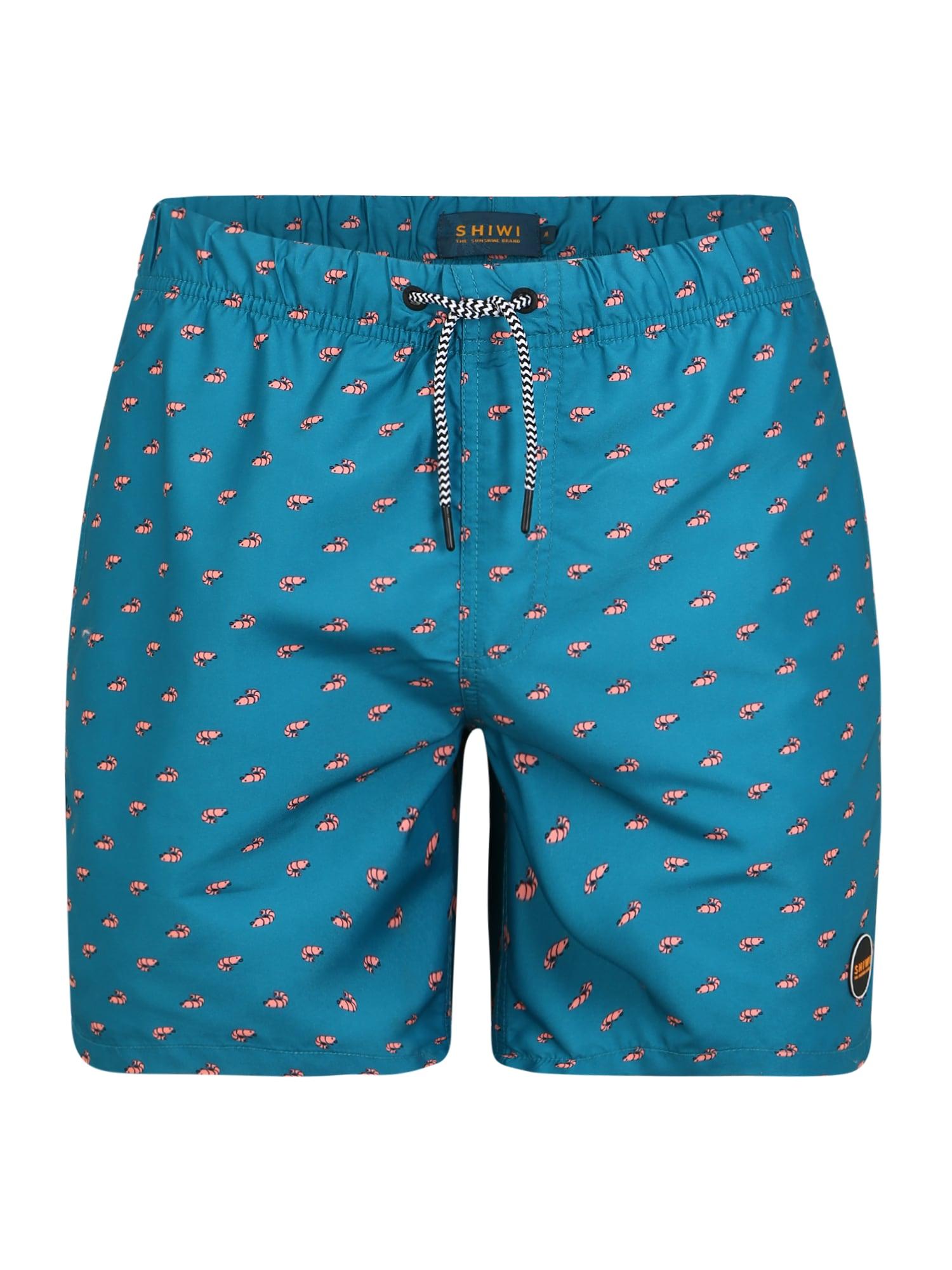 Shiwi Plavecké šortky 'Shrimp'  modré