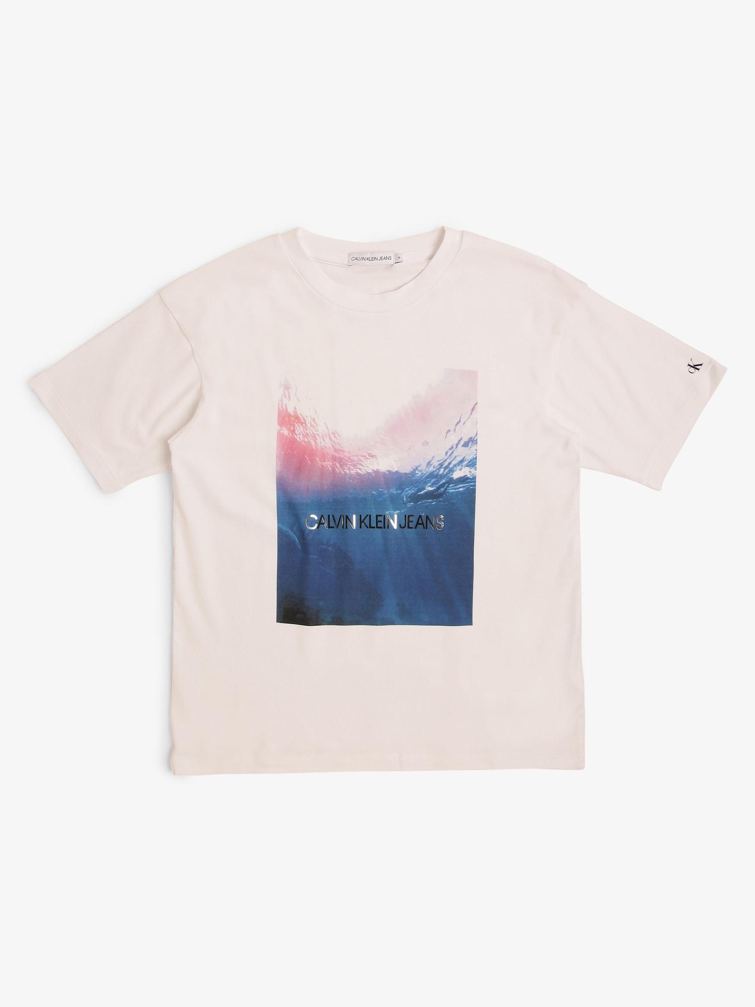 Calvin Klein Jeans T-shirt  naturvit / blandade färger