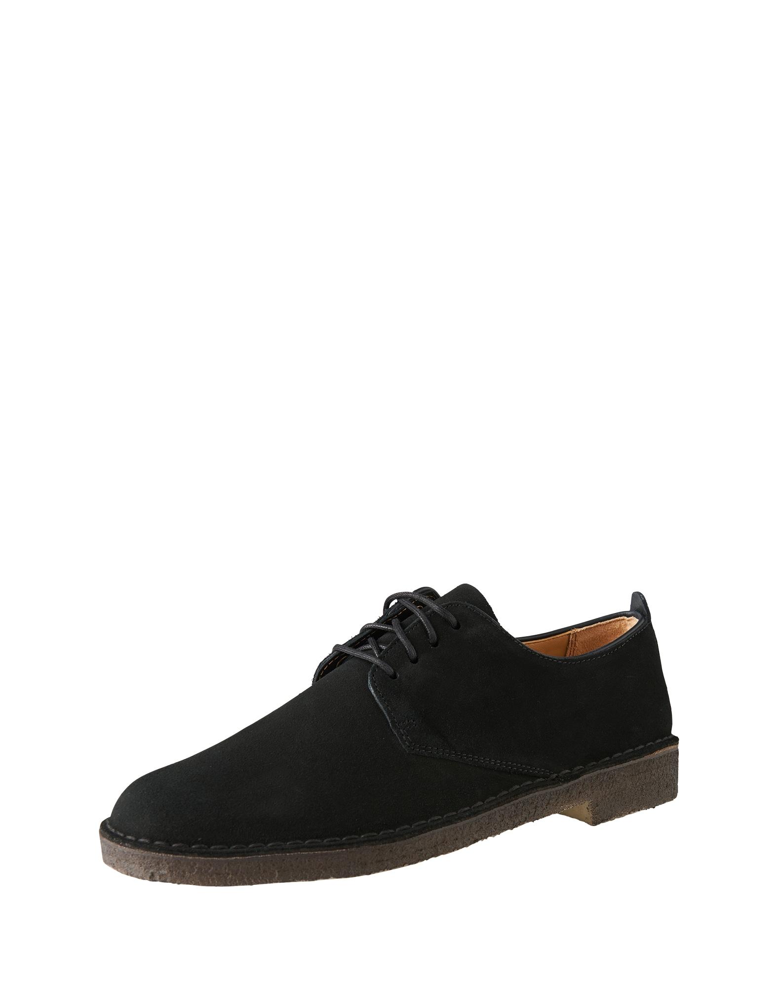 Šněrovací boty Desert London černá Clarks Originals